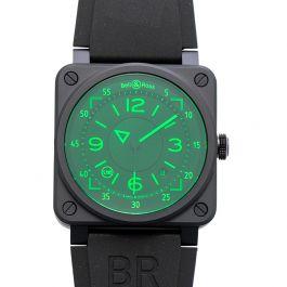 Bell & Ross Instruments BR0392-HUD-CE/SRB