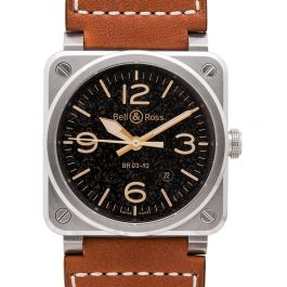 Bell & Ross Instruments BR0392-ST-G-HE/SCA/2