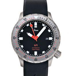 Sinn Diving Watches 1010.030-Silicone-LFC-Blk
