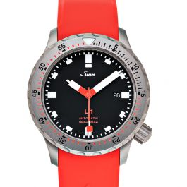Sinn Diving Watches 1010.030-Silicone-LFC-Red