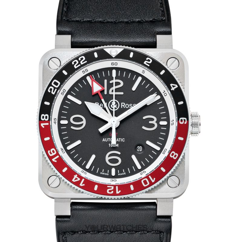 Bell & Ross Instruments BR0393-BL-ST/SCA