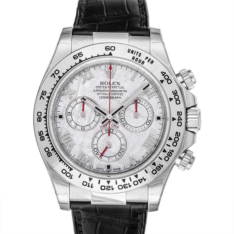 Rolex Cosmograph Daytona 116519-Meteorite-Roman