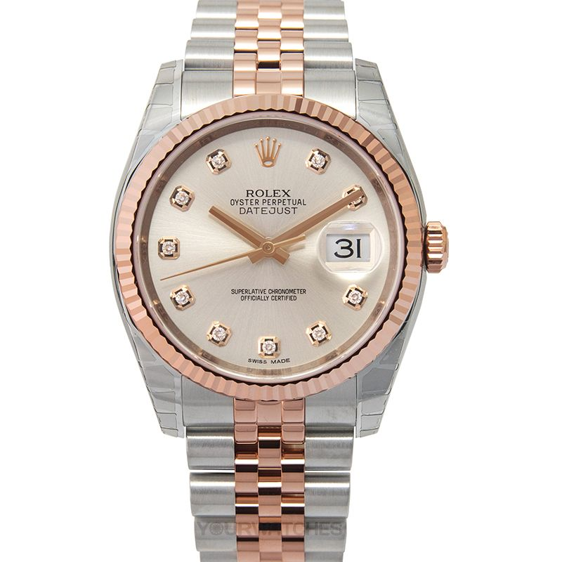 Rolex Datejust 116231-Steel-G