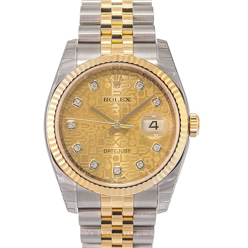 Rolex Datejust 116233/22computerChampagne