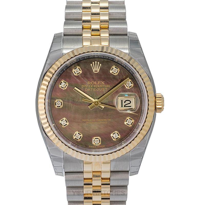 Rolex Datejust 116233 black mop