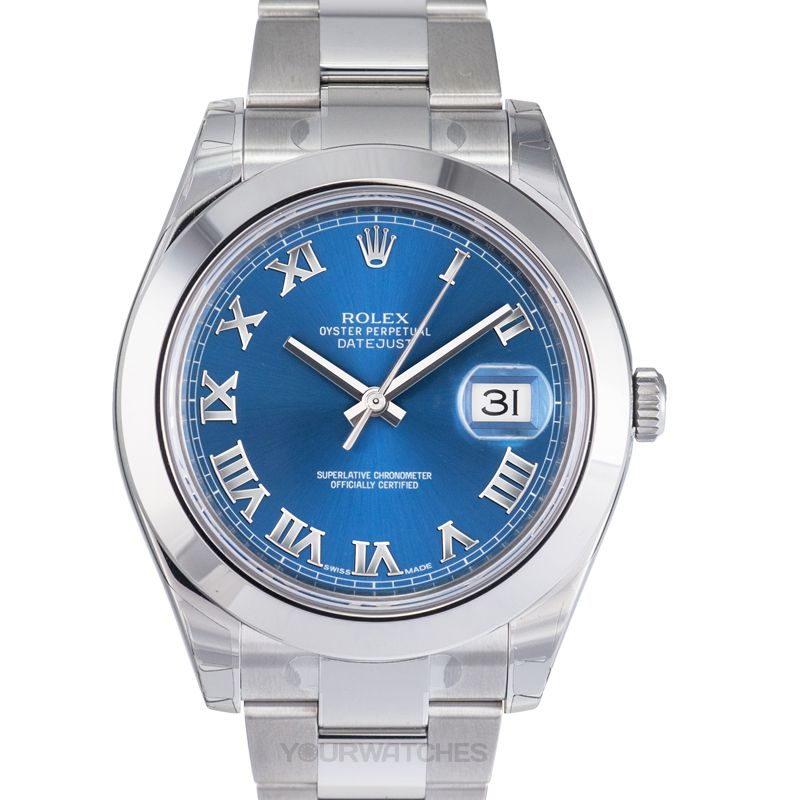 Rolex Datejust 116300/Blue Roman