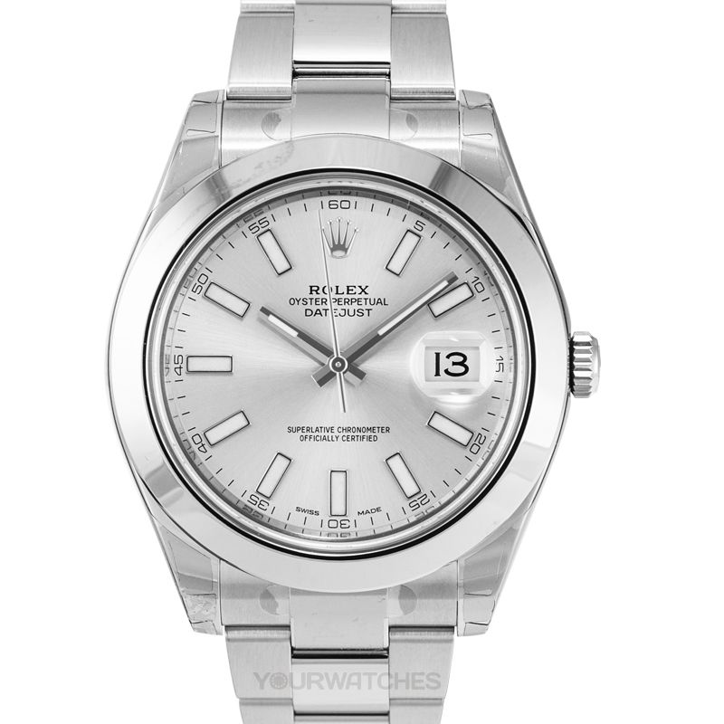 Rolex Datejust 116300/Silver Stick
