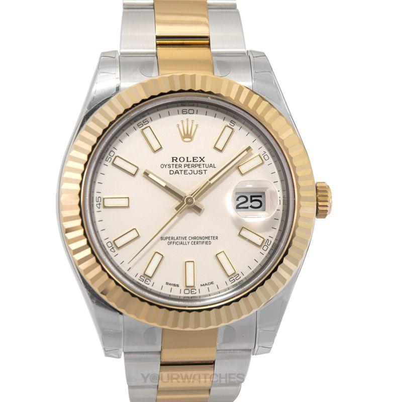 Rolex Datejust 116333 Ivory