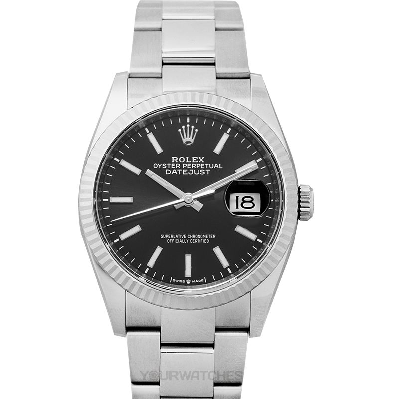 Rolex Datejust 126234 Black Oyster