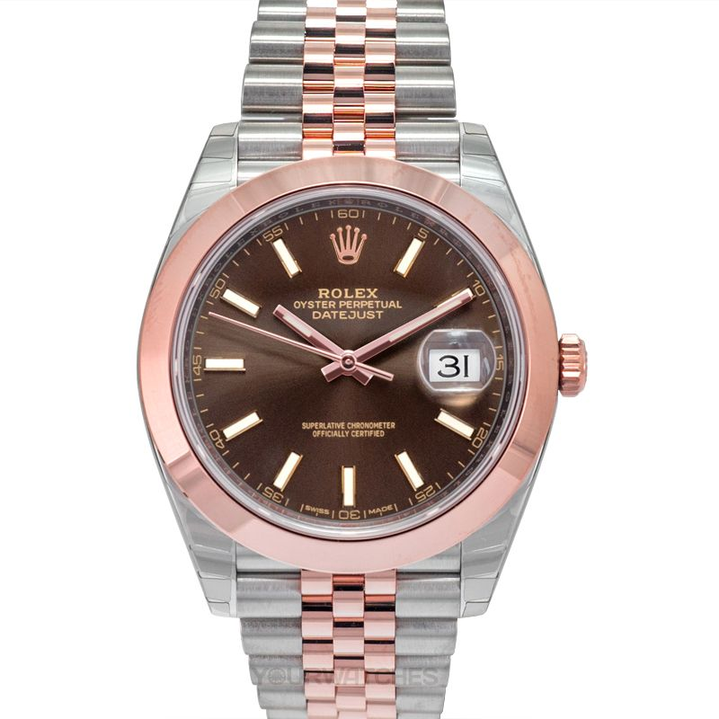 Rolex Datejust 126301 Chocolate