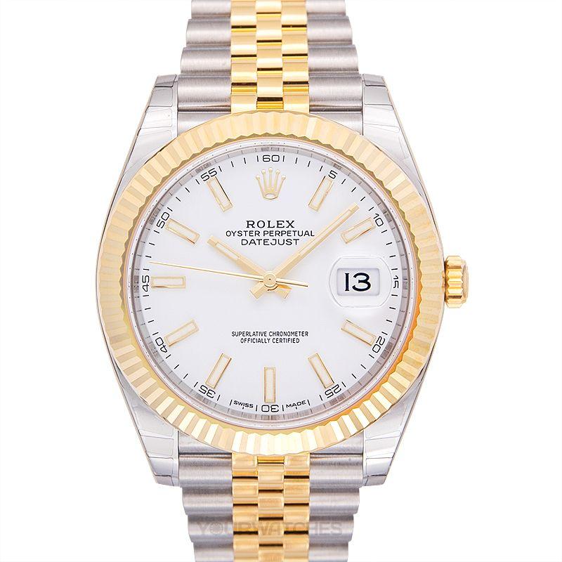 Rolex Datejust 126333 White Jubilee