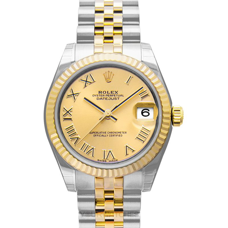Rolex Lady Datejust 178273 Gold