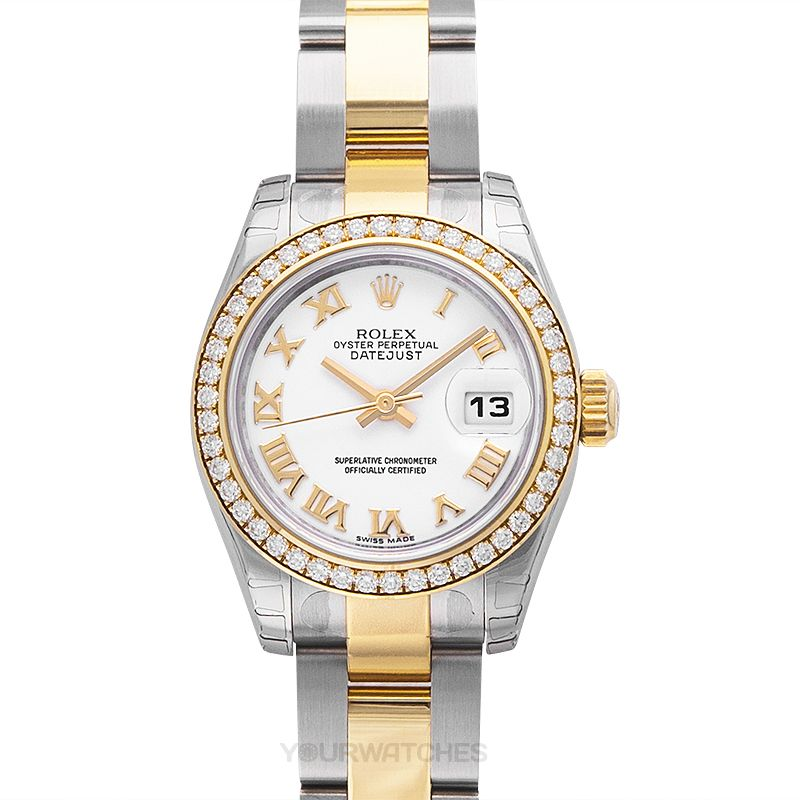 Rolex Lady Datejust 179383-W-R-G-O