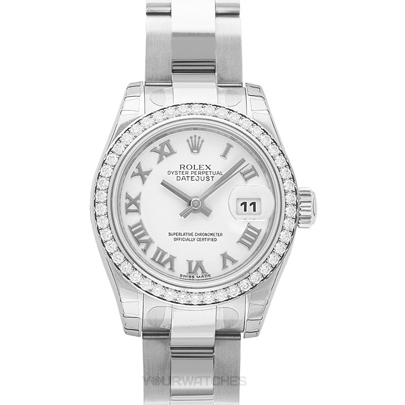 Rolex Lady Datejust 179384-W-R-G-O