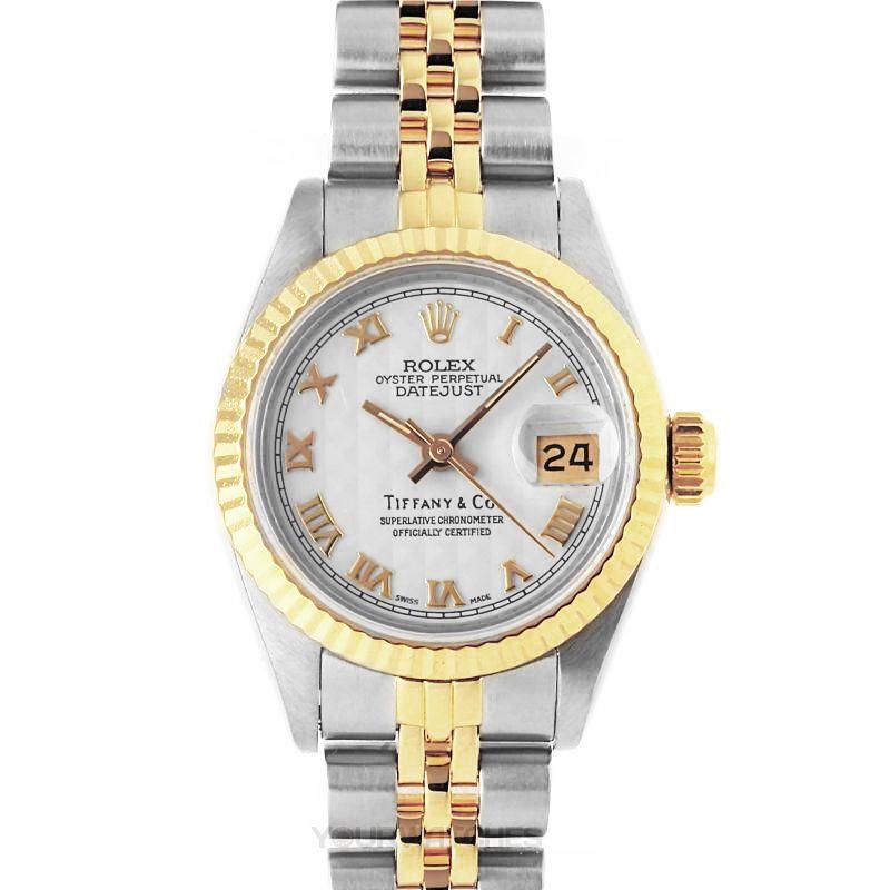 Rolex Lady Datejust 69173 White Roma Pra ju