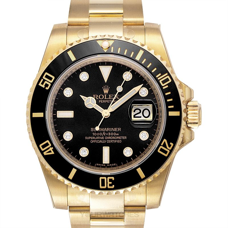 Rolex Submariner 116618LN-Diamond