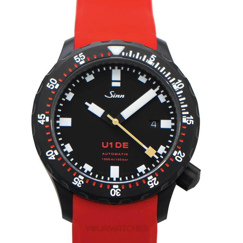 Sinn Diving Watches 1010.0241-Silicone-LFC-Red