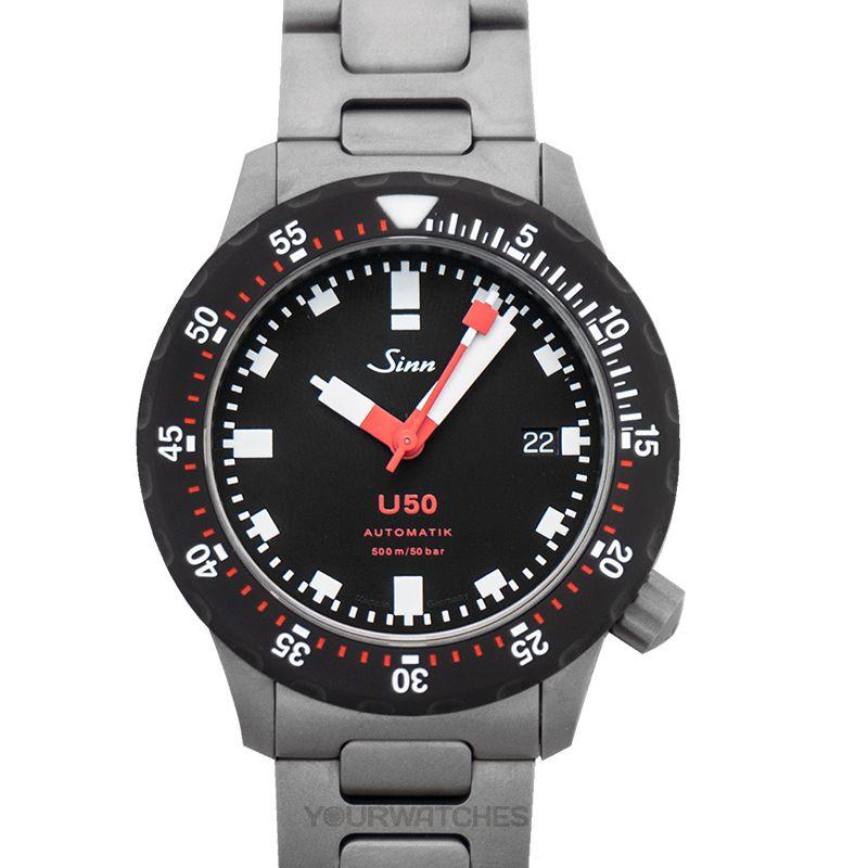 Sinn Diving Watches 1050.050-Solid-2LSS