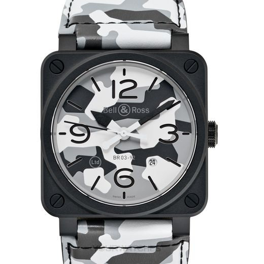 Bell & Ross Instruments BR0392-CG-CE/SCA