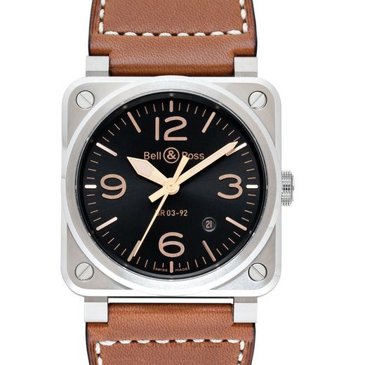 Bell & Ross Instruments BR0392-GH-ST/SCA