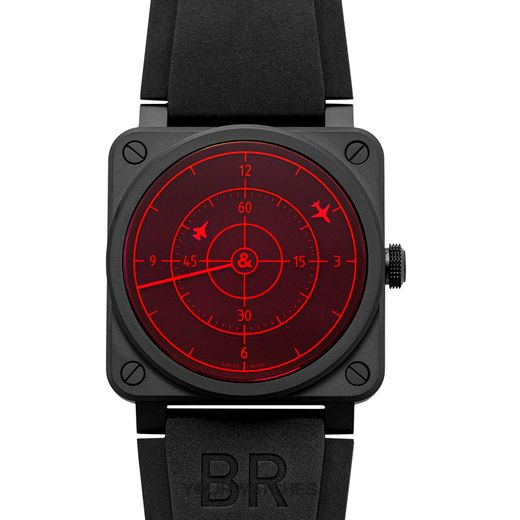 Bell & Ross Instruments BR0392-RRDR-CE/SRB