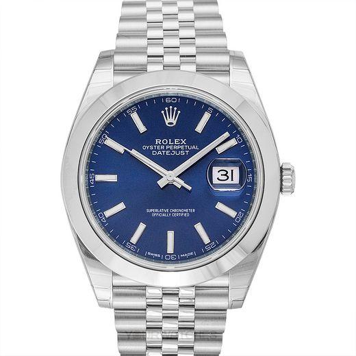 Rolex Datejust 126300-Blue-J