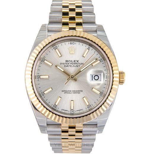 Rolex Datejust 126333 Silver Jubilee