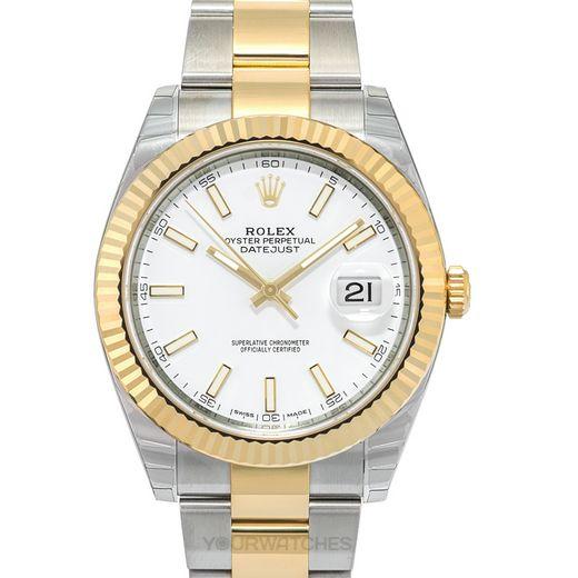 Rolex Datejust 126333 White