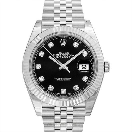 Rolex Datejust 126334-Black-G-J