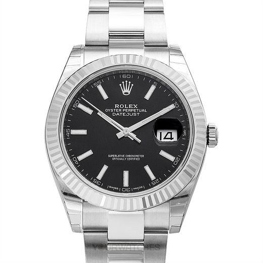 Rolex Datejust 126334 Black Oyster