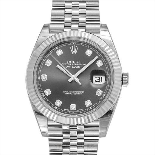 Rolex Datejust 126334-Rhodium-G-Jubilee