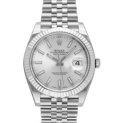 Rolex Datejust 126334 Silver Jubilee