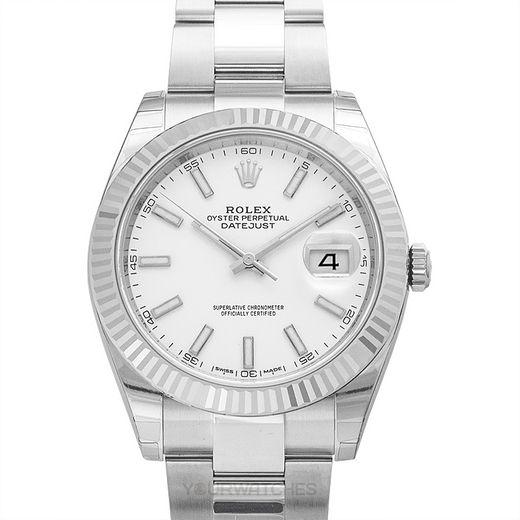 Rolex Datejust 126334 White Oyster