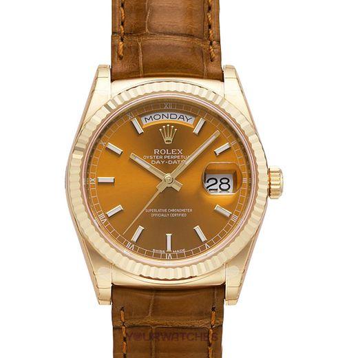Rolex Day Date 118138 YG CO