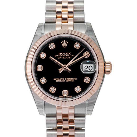 Rolex Lady Datejust 178271 G Black