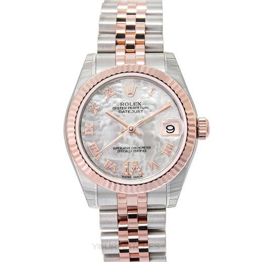 Rolex Lady Datejust 178271 White MOP G