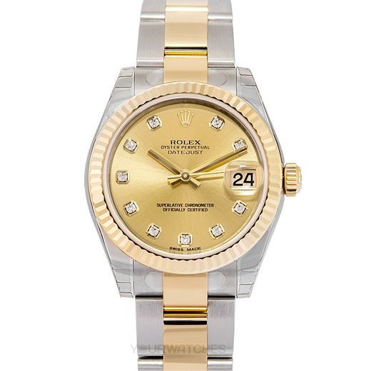 Rolex Lady Datejust 178273-Champ-O-G