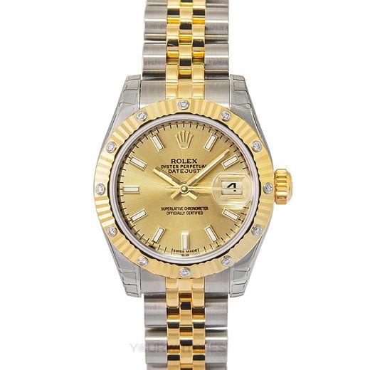 Rolex Lady Datejust 179313-Cp-I-J
